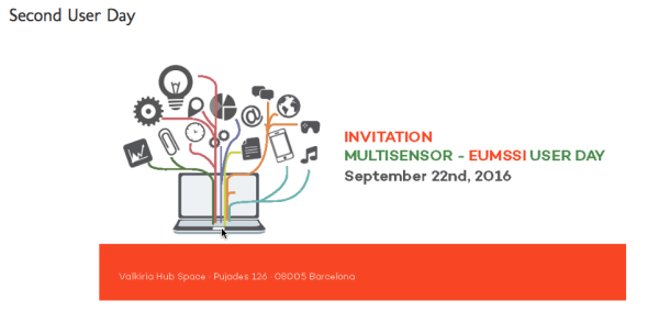 EUMSSI MULTISENSOR 2nd User Day